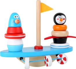 Balancier jouet à encastrer Pôle Sud
