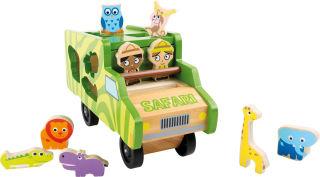 Jeu à encastrer Bus Safari