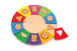 Puzzle à encastrer Formes Cercle