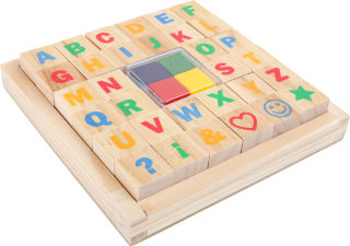 "Tampons ""Alphabet"""