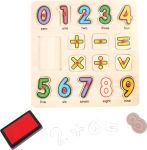 Tampons et puzzle Mathématiques