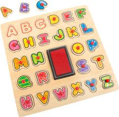 Tampons et puzzle ABC
