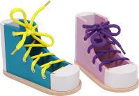 Chaussure à lacer «Couleur»
