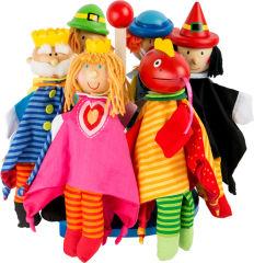 Présentoir Marionnettes Conte de fée