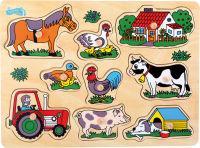 Puzzle à poser «La ferme»