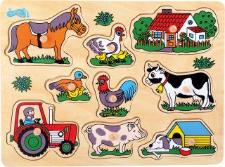 Puzzle à poser La ferme