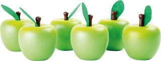 Présentoir Pommes en bois