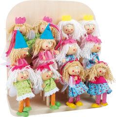 Présentoir Marionnettes à doigt Princesse