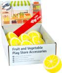 Présentoir Citrons en bois