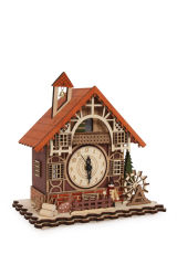 """Horloge """" Maison à colombages """""""
