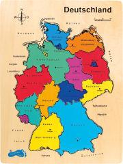 Puzzle en bois Allemagne