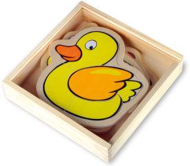 """Boîte de puzzle """"Ferme"""""""