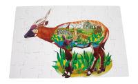 Puzzle géant «Animaux de la savane»