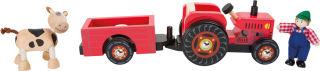 Tracteur avec remorque «Ferme»