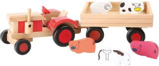 Tracteur avec animaux