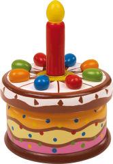 Boîte à musique «Gâteau d'anniversaire»