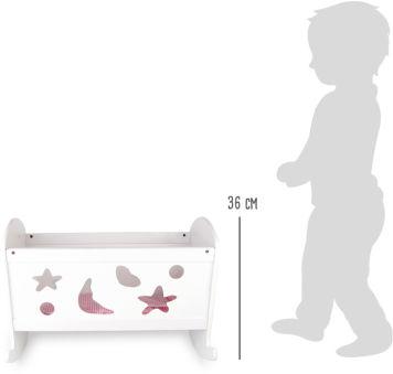 Berceau de poupée Rêves