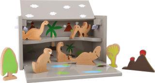 """Boîte de jeu """"Dinosaure"""""""