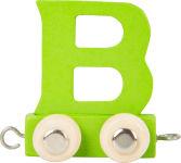 Train de lettres de couleur B
