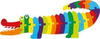 Puzzle ABC Crocodile