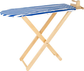 Table à repasser avec fer