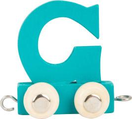 Train de lettres en couleur G
