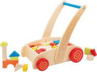 Chariot de marche à roulettes «Construction»