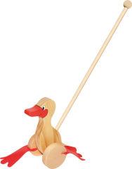 Animal à pousser Le canard dandinant