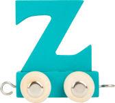 Train de lettres en couleur Z