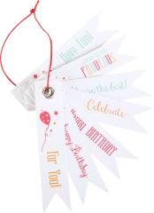 Etiquettes pour cadeaux Anniversaire