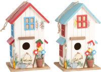 Maison pour oiseaux Villa des couleurs