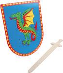 "Bouclier & épée ""Dragon"""