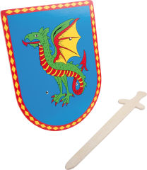 Bouclier & épée Dragon