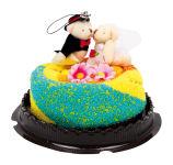 Serviette-gâteau «Couple de mariés»