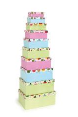 """Boîte pour cadeaux """"Cupcakes"""""""