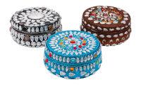 Boîte à bijoux ronde