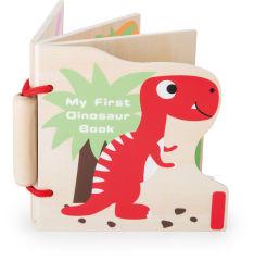 """Livre en bois ,,Mes premiers dinosaures"""""""
