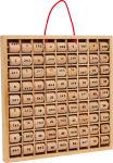 Table de multiplication jusqu'à dix