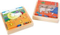 """Puzzle cubes """"Ferme & Zoo"""""""