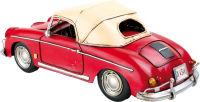 Déco style vintage Voiture de sport rouge