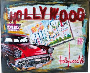 Tableau Hollywood style vintage