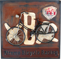 Tableau vélo style vintage
