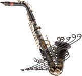 Déco style vintage Saxophone