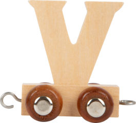 Train de lettre en bois V