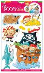 Autocollants «Singes de pirates»
