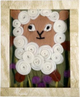 """Image de laine """"Mouton"""""""