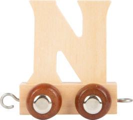 Train de lettre en bois N