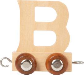 Train de lettre en bois B