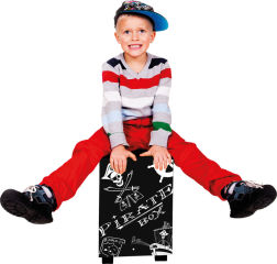 Selle tambour pour enfants «Cajón Pirate»