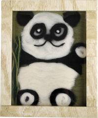 """Image de laine """"Panda"""""""